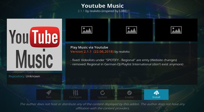 YouTube Music Addon Guide - Kodi Reviews