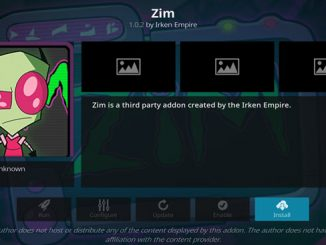Zim Addon Guide - Kodi Reviews
