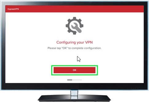 Firestick ExpressVPN configure