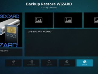 Backup Restore Wizard Guide - Kodi Reviews
