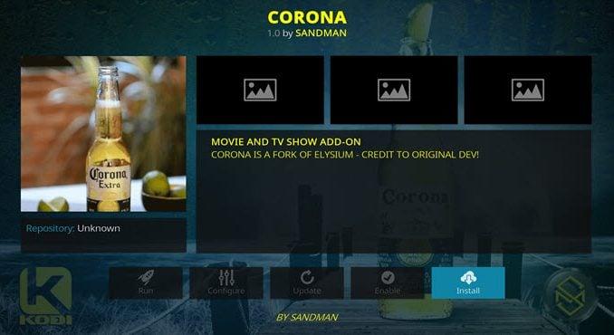 Corona Addon Guide - Kodi Reviews