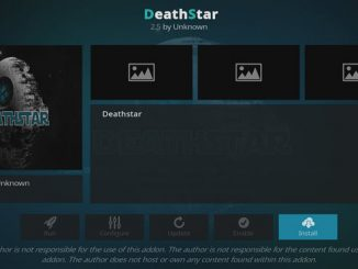 DeathStar Addon Guide - Kodi Reviews