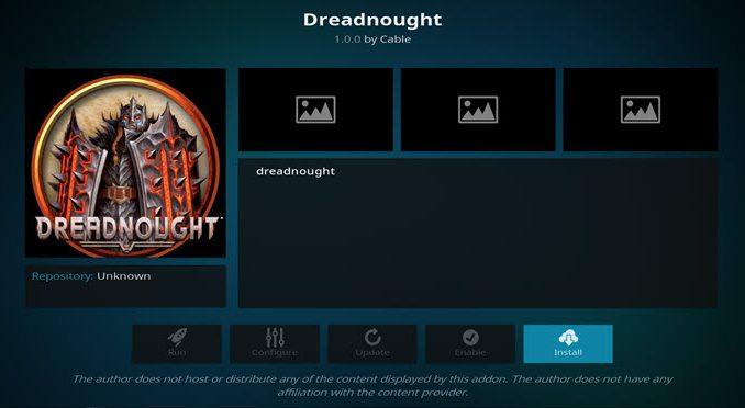 Dreadnought Addon Guide - Kodi Reviews