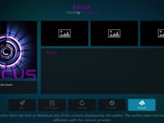 Focus Addon Guide - Kodi Reviews