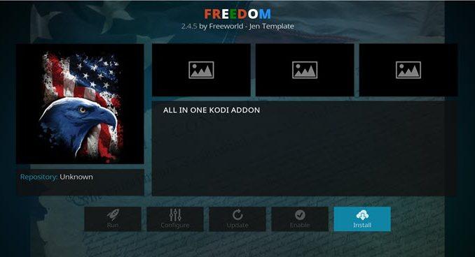 Freedom Addon Guide - Kodi Reviews
