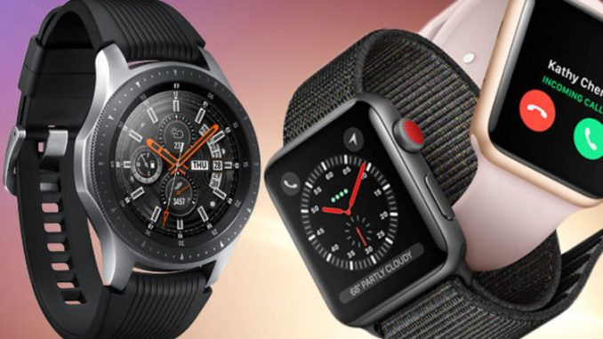 Galaxy Watch v Apple Watch - Which comes out on top?