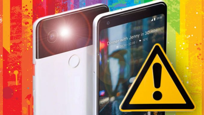 Google Pixel 2 may have a problem as users report issues with performance