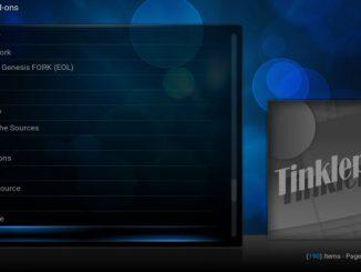 How to Install Tinklepad Kodi Addon