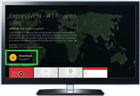 irestick ExpressVPN download