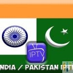 India Pakistan IPTV flag