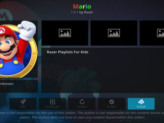 Mario Addon Guide - Kodi Reviews