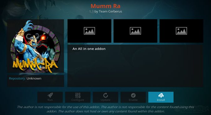 Mumm Ra Addon Guide - Kodi Reviews