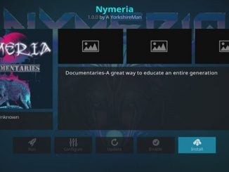 Nymeria Documentaries Addon Guide - Kodi Reviews