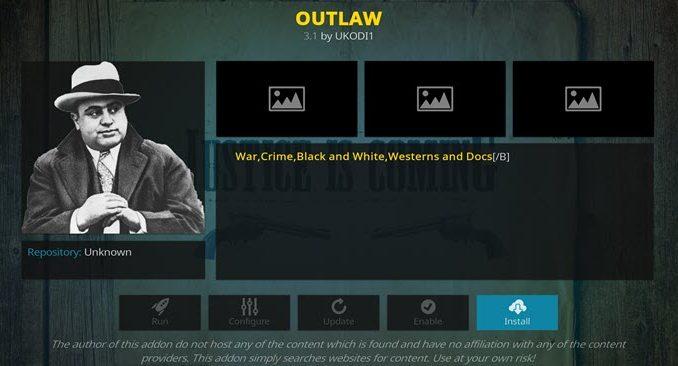 Outlaw Addon Guide - Kodi Reviews