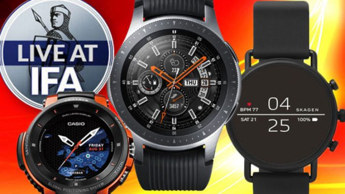 Samsung's Galaxy Watch gets new rivals ahead of UK launch
