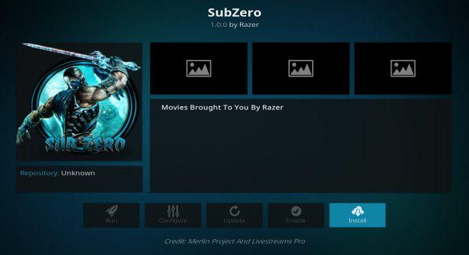 SubZero Addon Guide - Kodi Reviews