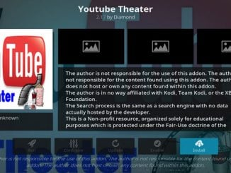 YouTube Theater Addon Guide - Kodi Reviews