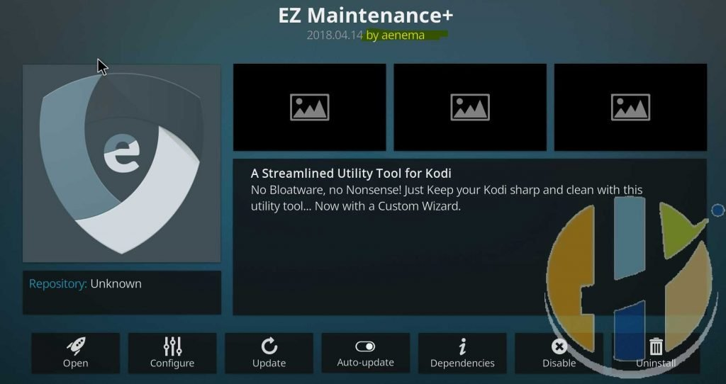 How to install EZ Maintenance KODI ADDON - Best Buffering solution