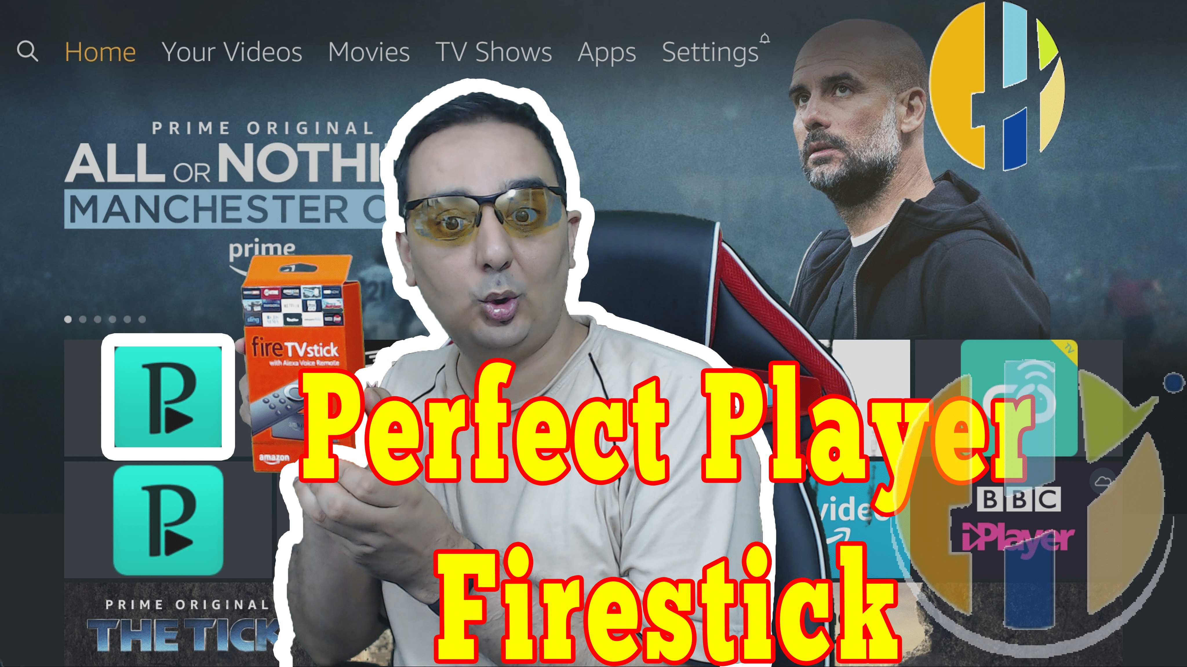 How to Install Perfect Player IPTV APK on the FireStick or Amazon