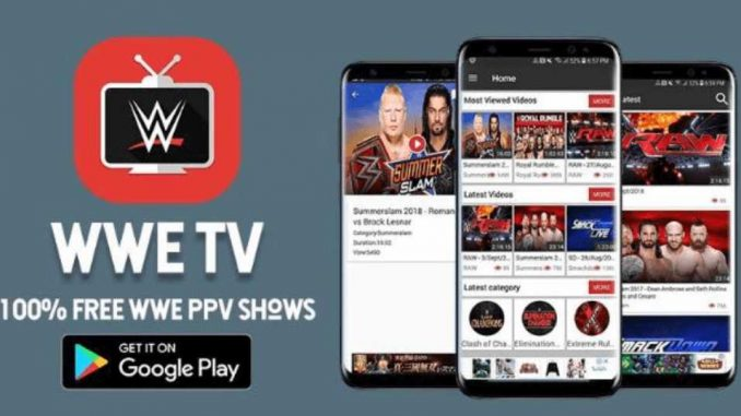 WWE TV Android APK: Stream Wrestling Replays