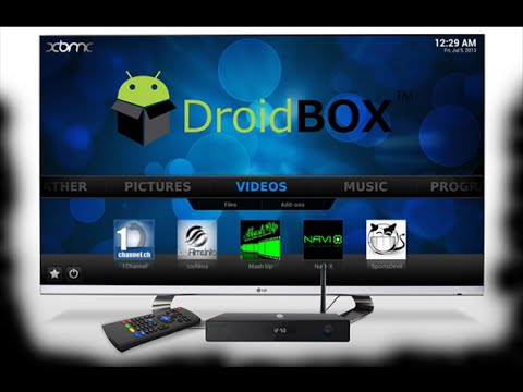 UnBoxing Droidbox T8s Dual Boot Android and Linux ( OpenElec