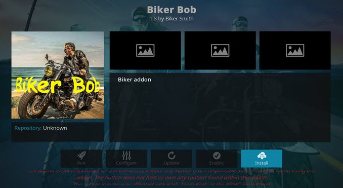 Biker Bob Addon Guide - Kodi Reviews