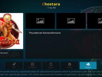 Cheetara Addon Guide - Kodi Reviews