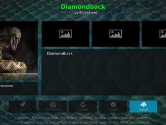 Diamondback Addon Guide - Kodi Reviews
