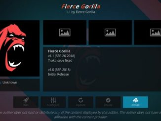 Fierce Gorilla Addon Guide - Kodi Reviews