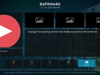 GoFilms4U Addon Guide - Kodi Reviews