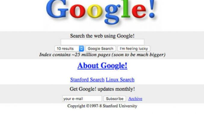 Google: 20 years of Google TODAY - Look back at how Google have dominated the WORLD