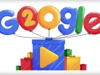 Google is 20 TODAY: Google marks 20th anniversary with Google Doodle youtube video