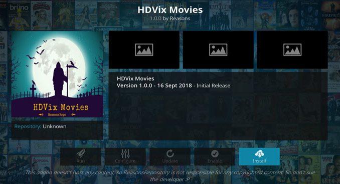 HDVix Addon Guide - Kodi Reviews