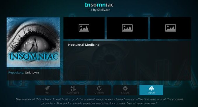 Insomniac Addon Guide - Kodi Reviews