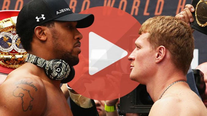 Joshua vs Povetkin live stream - How to watch heavyweight boxing LIVE online