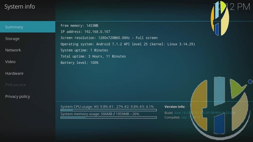 Kodi 18 beta 3 android download | how to install kodi 18