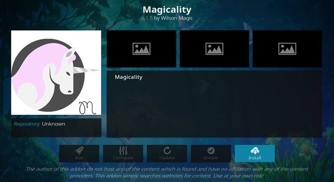 Magicality Addon Guide - Kodi Reviews