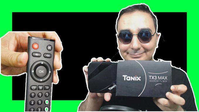 TANIX TX3 Android TV KODI Box Video Review - Husham com Unboxing