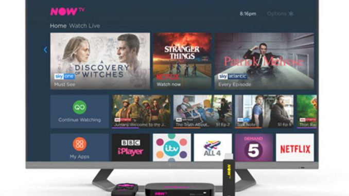NOW TV beats Sky with this major new upgrade that is released today