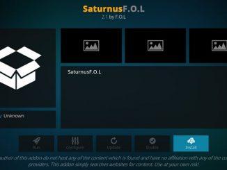 Saturnus F.O.L. Addon Guide - Kodi Reviews