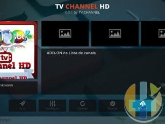 TV Channel HD Addon Guide