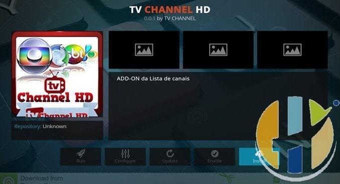 TV Channel HD Addon Guide