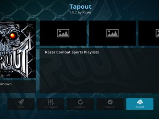 Tapout Addon Guide - Kodi Reviews