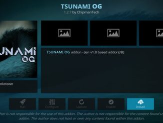 Tsunami OG Addon Guide - Kodi Reviews