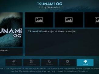 Tsunami OG Addon Guide - Kodi Reviews