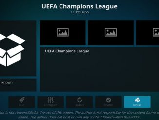 UEFA Champions League Addon Guide