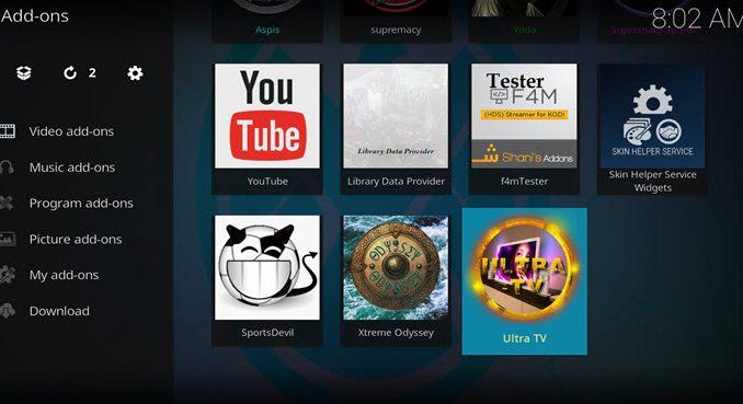 Ultra TV Addon Guide - Kodi Reviews
