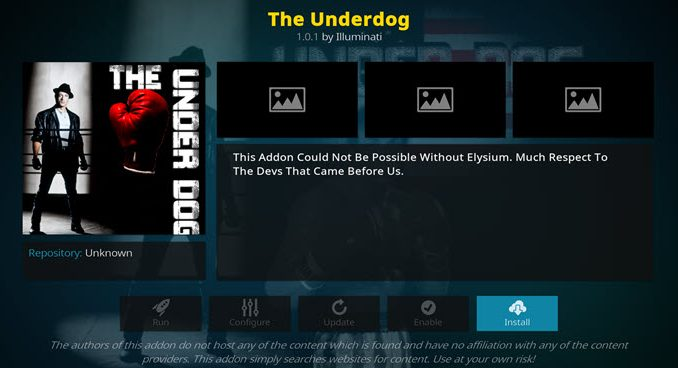 Underdog Addon Guide - Kodi Reviews