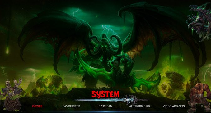Warcraft Build 1
