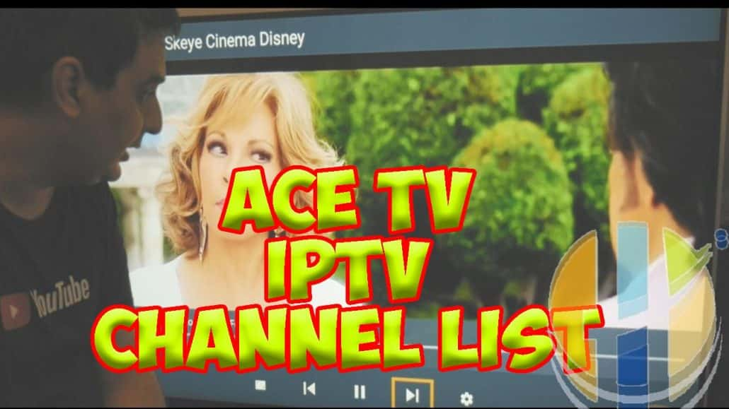 ACE TV IPTV Channel list 29/09/2018 with Adult channels
